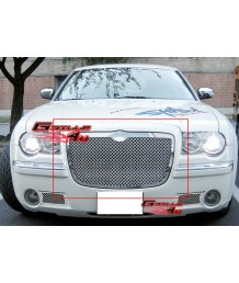 Решетка радиатора 05-10 Chrysler 300/300C Stainless Steel Mesh Grille